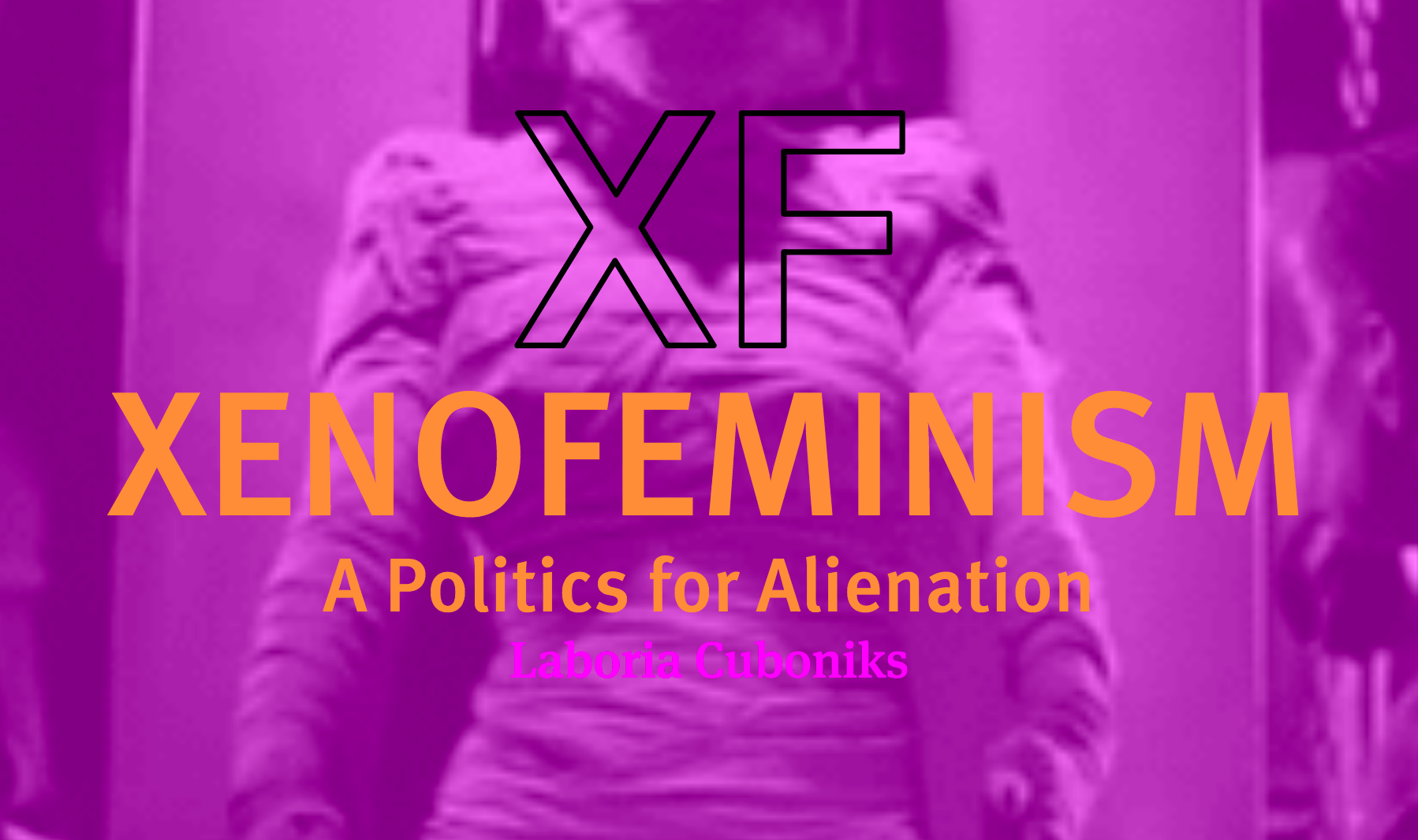 Figure 1: Screengrab from the online version of Laboria Cubonik's Xenofeminist Manifesto